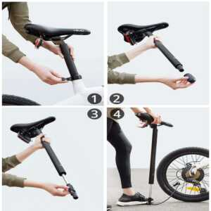 Xiaomi HIMO C20 Foldable Electric Moped Bicycle dyqan taxi