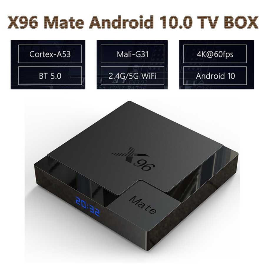 x96 mate android box online dyqan taxi