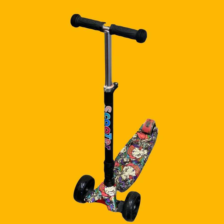 scooter for kids material rezistent model me ngjyra