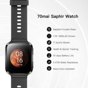 saphir smartwatch 70mai bli online ne dyqan taxi
